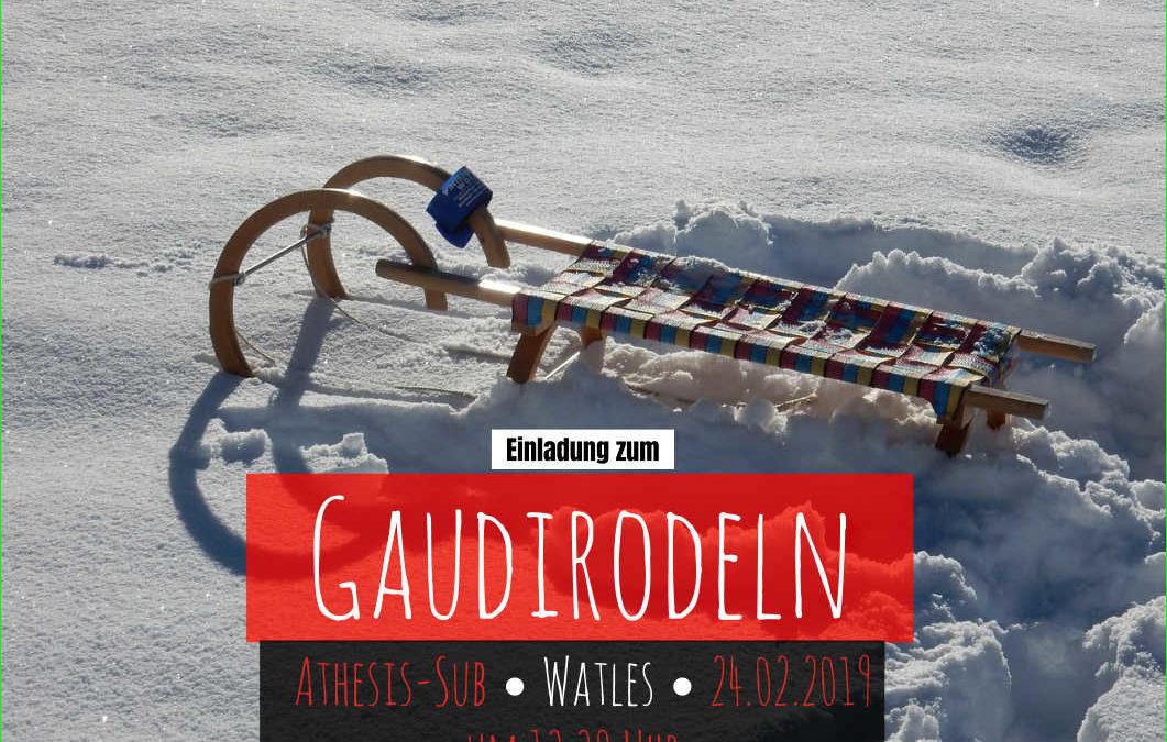 Gaudirodeln Watles